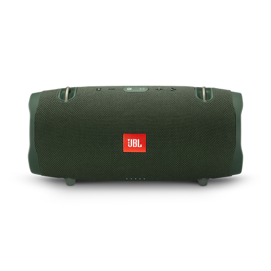 JBL Xtreme 2 - Forest Green - Portable Bluetooth Speaker - Front