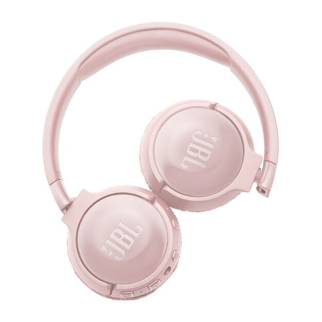 JBL TUNE 600BTNC - Pink - Wireless, on-ear, active noise-cancelling headphones. - Detailshot 4