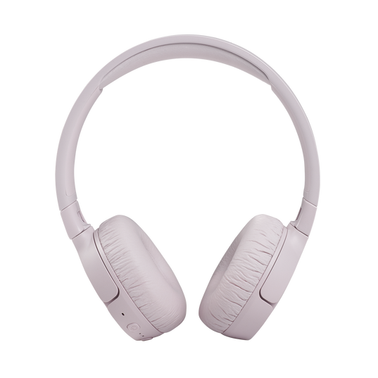 JBL Tune 660NC - Pink - Wireless, on-ear, active noise-cancelling headphones. - Front