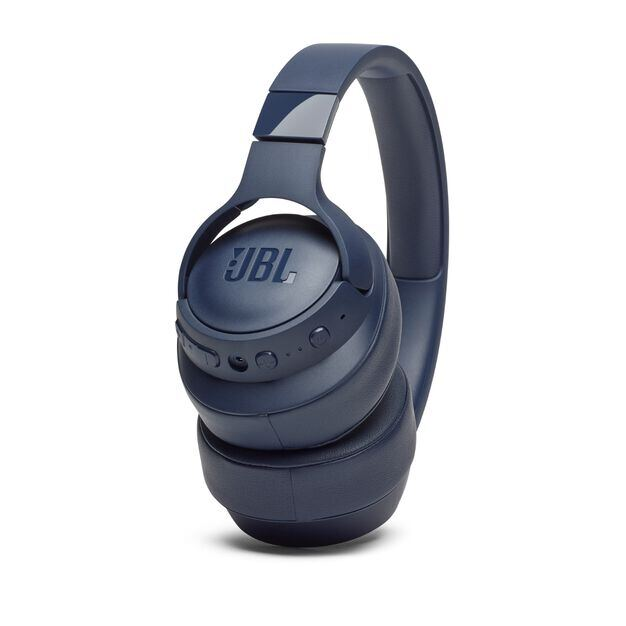 JBL TUNE 750BTNC - Blue - Wireless Over-Ear ANC Headphones - Detailshot 6
