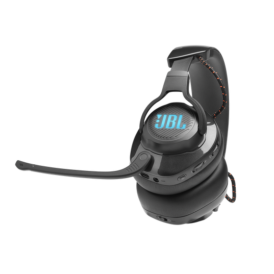 JBL Quantum 600 - Black - Wireless over-ear performance gaming headset with surround sound and game-chat balance dial - Detailshot 4