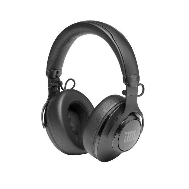 JBL CLUB 950NC - Black - Wireless over-ear noise cancelling headphones - Detailshot 1