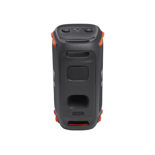 JBL Partybox 110 - Black - Portable party speaker with 160W powerful sound, built-in lights and splashproof design. - Back