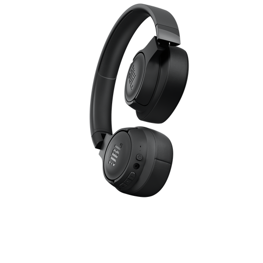 JBL TUNE 700BT - Black - Wireless Over-Ear Headphones - Detailshot 1