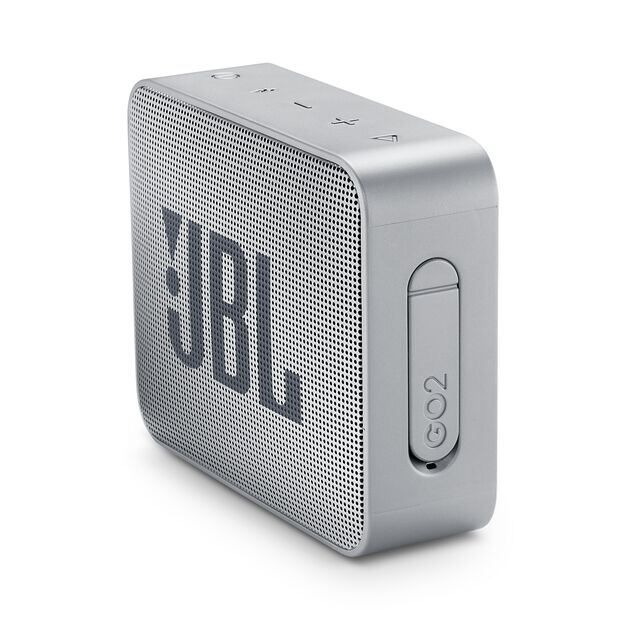 JBL GO 2 - Ash Gray - Portable Bluetooth speaker - Detailshot 1