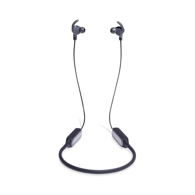 JBL EVEREST™ ELITE 150NC - Gun Metal - Wireless In-Ear NC headphones - Detailshot 4