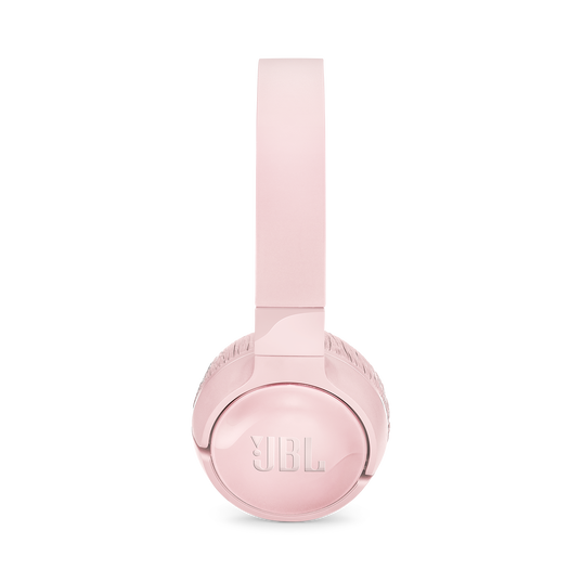 JBL TUNE 600BTNC - Pink - Wireless, on-ear, active noise-cancelling headphones. - Left