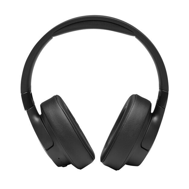 JBL TUNE 700BT - Black - Wireless Over-Ear Headphones - Front