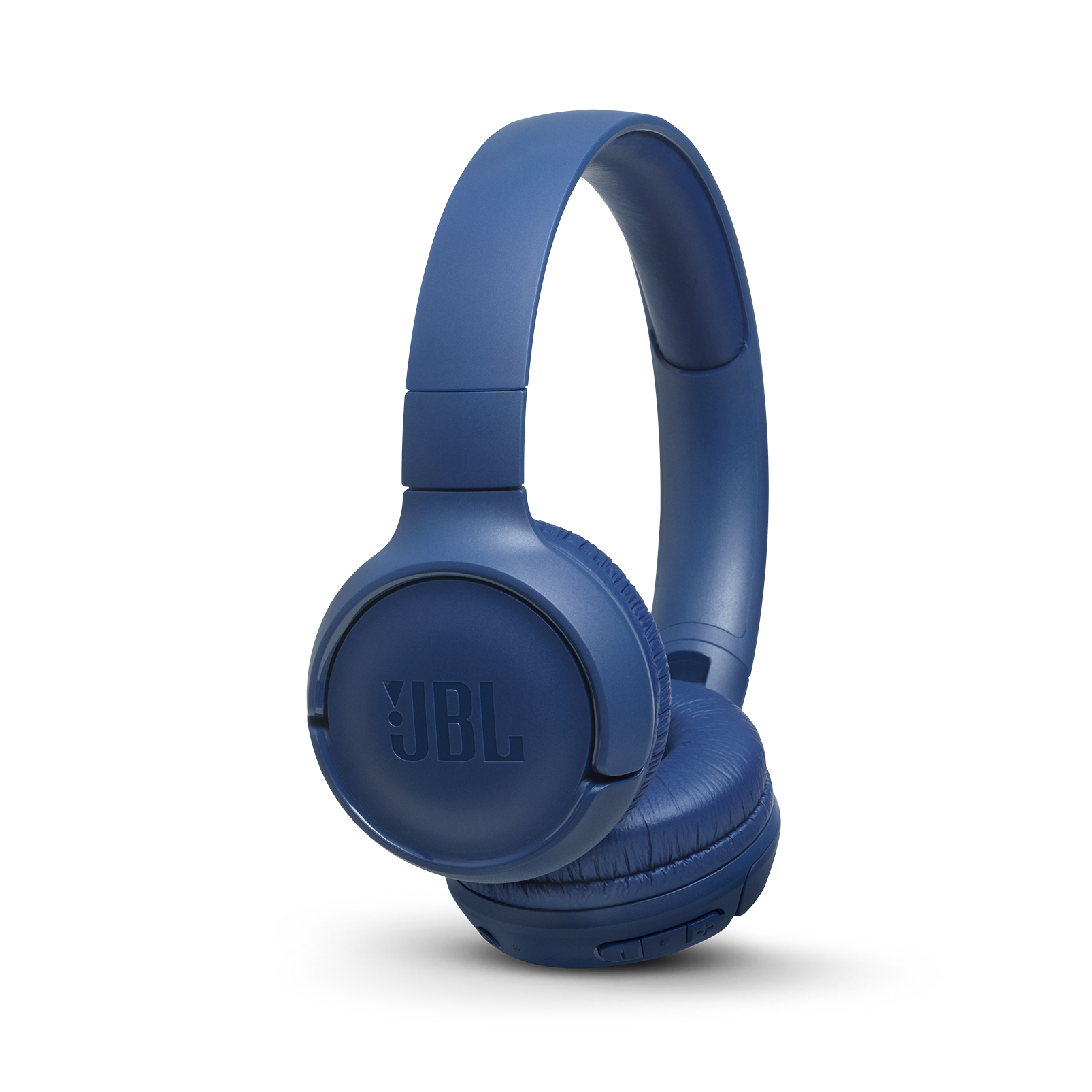 JBL TUNE 560BT - Blue - Wireless on-ear headphones - Hero